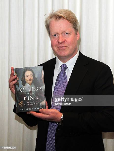 Lord Charles Spencer attends The British American Business Council of Los Angeles book signing at the Viceroy Hotel on March 3 2015 in Santa Monica...