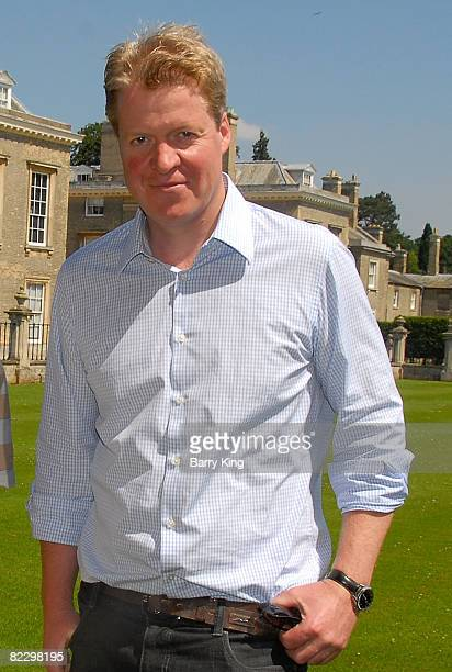 Lord Charles Spencer the 9th Earl Spencer at the Althorp home of Princess Diana on July 28 2008 in Althorp Northampton England