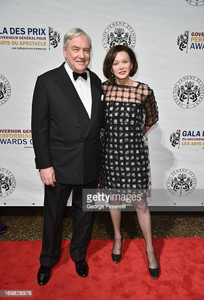 Lord Conrad Black and Barbara Amiel attends the 2013 Governor General's Performing Arts Awards on June 1 2013 in Ottawa Canada