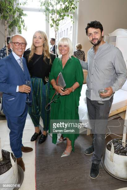 Lord Davies of Abersoch Carolina Mazzolari Lady Jeanne Davies and Conrad Shawcross attend the new Royal Academy of Arts opening party at Royal...