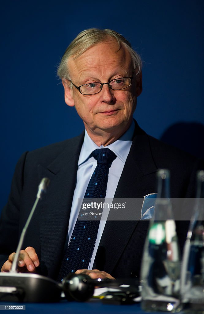 Lord Deben attends the launch of the 19th World Oceans Day at Selfridges Ultralounge on June 8, 2011 in London, England. World Oceans Day is held for the first time at Selfridges and will be attended by members of Parliament from across the European Union.