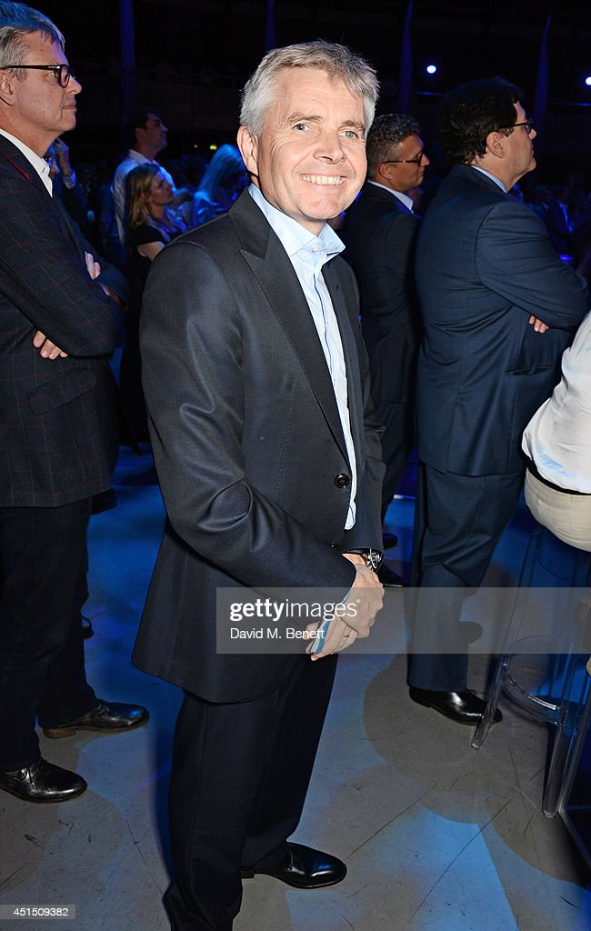 Lord Drayson attends the global launch of the FIA Formula E Championship, celebrating the founding of the first ever all-electric race series, at The Roundhouse on June 30, 2014 in London, England.