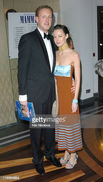 Lord Edward Spencer Churchill and Melissa Milne during Mary Poppins Gala Evening After Party at Prince of Wales Theatre in London Great Britain