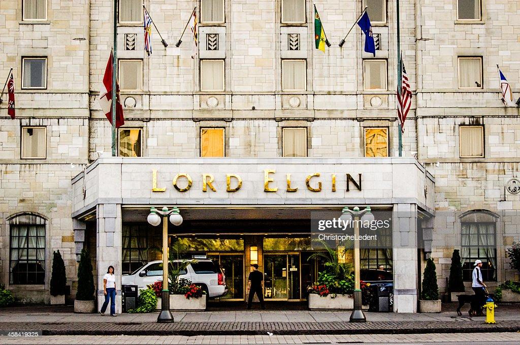 Lord Elgin Hotel : Stock Photo