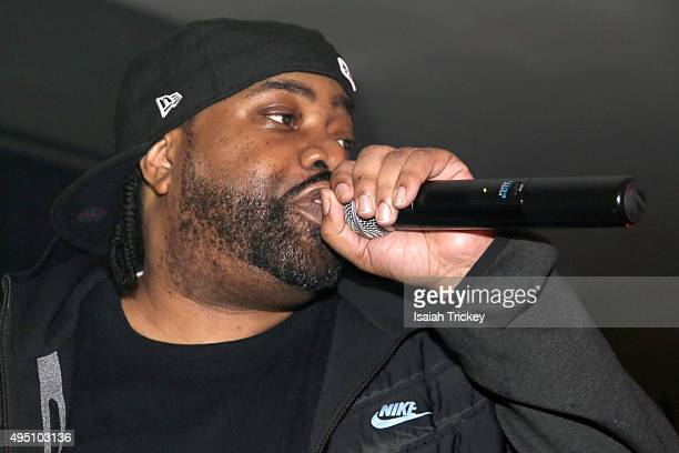 Lord Finesse attends The Beatnuts Performence At The Den At Nest at Nest on October 30 2015 in Toronto Canada