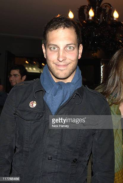 Lord Freddie Windsor during Tatler's Little Black Book Launch Party Inside November 9 2005 at Baglioni Hotel in London Great Britain