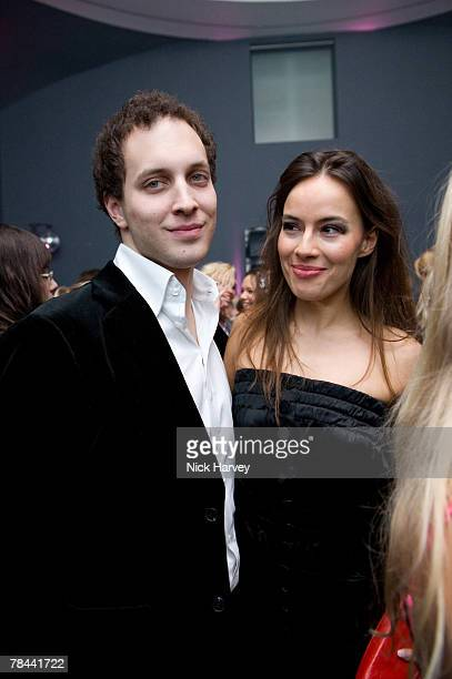 Lord Frederic Windsor and guest attend the DKNY Night Fragrance launch on December 12 2007 in London England