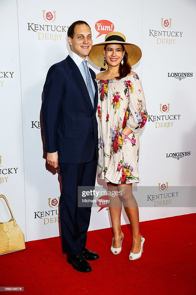 Lord Frederick and Lady Sophie attends 139th Kentucky Derby at Churchill Downs on May 4, 2013 in Louisville, Kentucky.