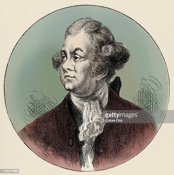 Lord Frederick North portrait British Prime Minister from 1770 1782 led Britain through the American War of Independence13 April 1732 5 August 1792