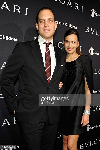 Lord Frederick Windsor and actress Sophie Winkleman attend BVLGARI and Save The Children STOP THINK GIVE PreOscar Event at Spago on February 17 2015...