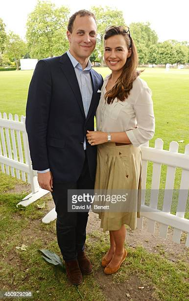 Lord Frederick Windsor and Lady Sophie Windsor attend the 'Dockers Flannels For Heroes' cricket match at Burton Court Chelsea on June 20 2014 in...