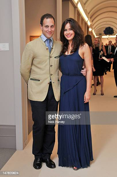 Lord Frederick Windsor and Lady Sophie Windsor attend The Masterpiece Midsummer Party at Royal Hospital Chelsea on July 3 2012 in London England