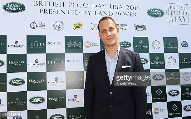 Lord Frederick Windsor attends British Polo Day presented by Land Rover at the Will Rogers Polo Club on May 31 2014 in Los Angeles California