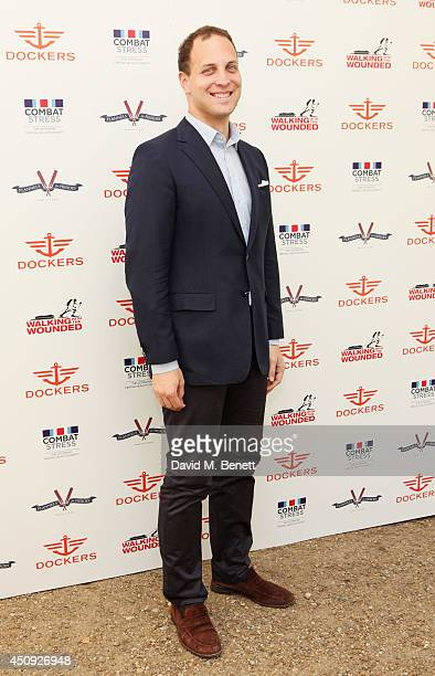 Lord Frederick Windsor attends the 'Dockers Flannels For Heroes' cricket match at Burton Court Chelsea on June 20 2014 in London United Kingdom