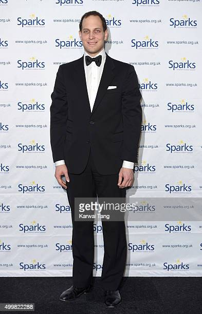 Lord Frederick Windsor attends the Sparks Winter Ball at Old Billingsgate Market on December 3 2015 in London England