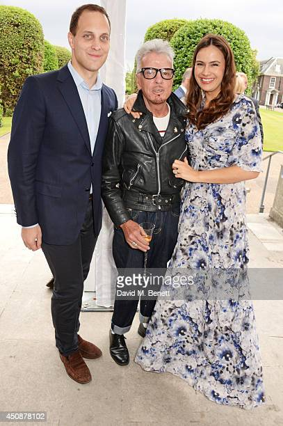 Lord Frederick Windsor Nicky Haslam and Lady Sophie Windsor attend the drinks reception hosted by Dockers the San Francisco based apparel brand at...