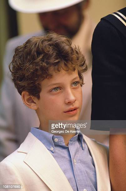 Lord Frederick Windsor son of Prince and Princess Michael of Kent June 1988