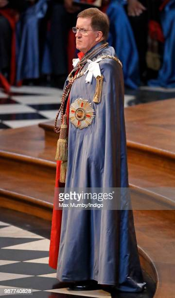 Lord George Robertson Knight Grand Cross of The Most Distinguished Order of Saint Michael and Saint George attends a Service of Commemoration and...