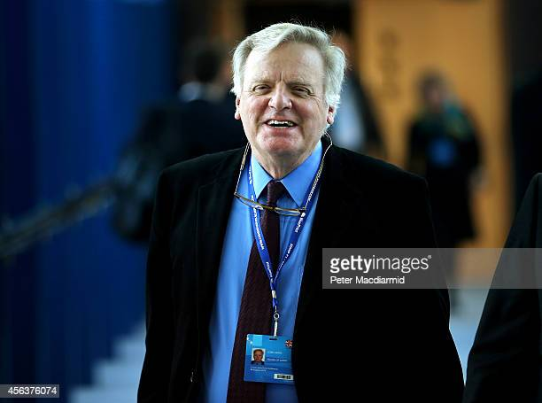 Lord Grade attends the Conservative party conference on September 30 2014 in Birmingham England The third day of conference will see speeches on home...