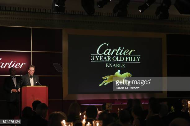 Lord Grimthorpe attends The Cartier Racing Awards 2017 at The Dorchester on November 14 2017 in London England