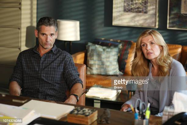 JOHN Lord High Executioner Episode 105 Pictured Eric Bana as John Meehan Connie Britton as Debra Newell