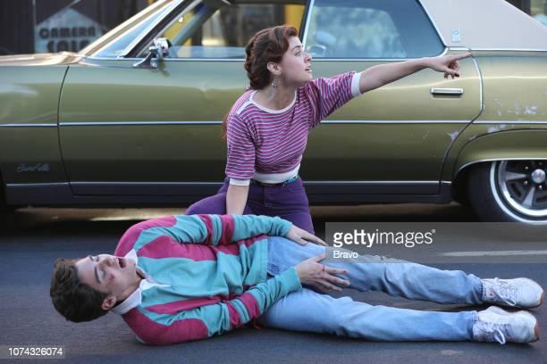 JOHN Lord High Executioner Episode 105 Pictured Joshua Basset as Teenage John Giorgia Whigham as Teenage Denise