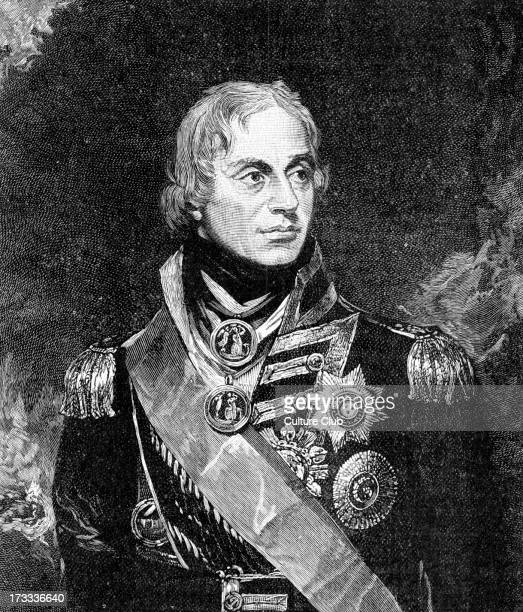 Lord Horatio Nelson after portrait by Sir William Beechey British admiral famous for his participation in the Napoleonic Wars most notably in the...