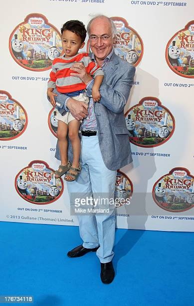 Lord Howard of Lympne attends VIP Screening of Thomas & Friends: King Of The Railway at Vue Leicester Square on August 18, 2013 in London, England.