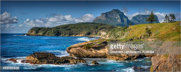 Lord Howe Island coastal panorama