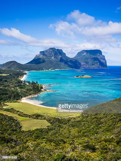 Lord Howe Island view Kims Lookout