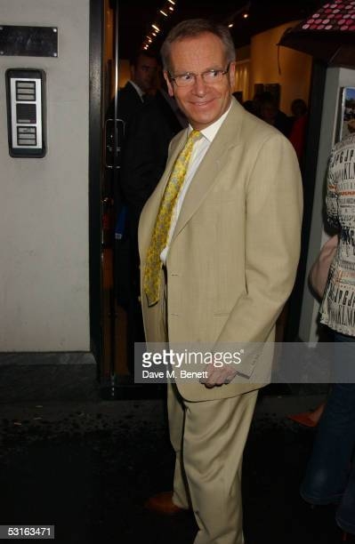 Lord Jeffrey Archer attends The Sixties Set An Inside View By Robin DouglasHome at the Air Gallery June 28 2005 in London England The exhibition...