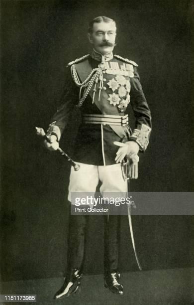 Lord Kitchener', circa 1910, . Portrait of British Field Marshal, diplomat and statesman Horatio Herbert Kitchener, 1st Earl Kitchener . Kitchener...