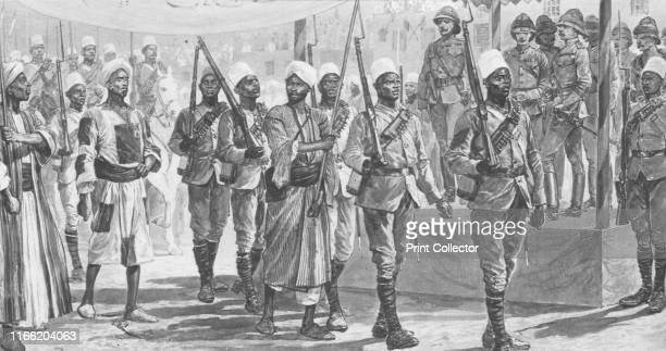 Lord Kitchener's Conquest of the Soudan 189698 Mahmaud the Khalifa's Chief Lieutenant Taken Captive after the Battle of Atbara' Episode during the...