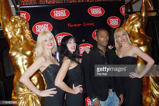 Lord Kossity and Crazy Horse Dancers attend the Crazy Horse ' For Ever Crazy ' Show Premiere Party at the Crazy Horse Saloon on October 22 2007 in...