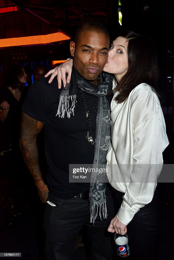 Lord Kossity and Delphine Chaneac attend the Jeweler Edouard Nahum 'Maya' New Collection Launch Party at La Gioia on December 4, 2012 in Paris, France.