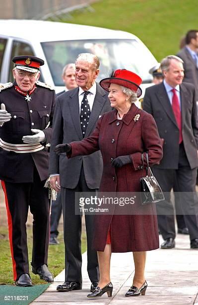 Lord Lieutenant Prince Philip and Queen Elizabeth II Visiting Essex University