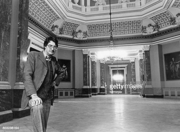 Lord Londonderry, 9th Marquess of Londonderry pictured at Wynyard Hall Estate, County Durham, 4th January 1983. Our Picture Shows Lord Londonderry in...