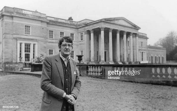 Lord Londonderry 9th Marquess of Londonderry pictured at Wynyard Hall Estate County Durham 24th January 1987 Our Picture Shows Lord Londonderry after...