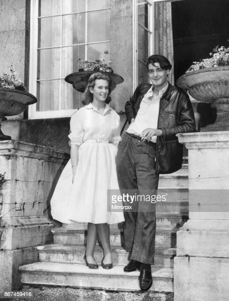 Lord Londonderry 9th Marquess of Londonderry pictured at Wynyard Hall Estate County Durham 12th July 1958 Our Picture Shows home for the first time...