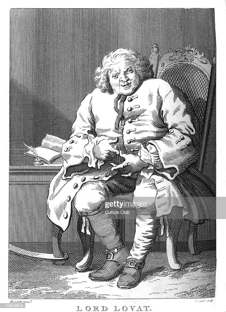 Lord Lovat by William Hogarth : News Photo
