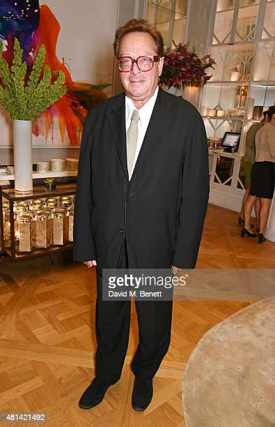 Lord Maurice Saatchi attends a celebration of Brazilian ballet dancer Marcelo Gomes hosted by Sigourney Weaver Ali Wambold and Monica GS Wambold at...