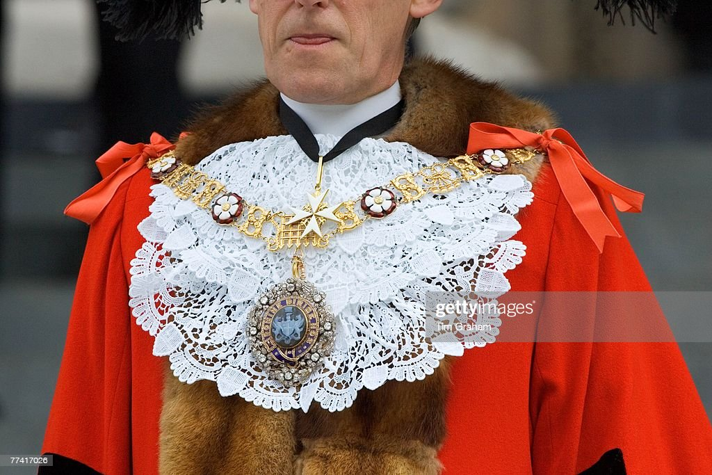 Lord Mayor's Chain of Office, UK : News Photo