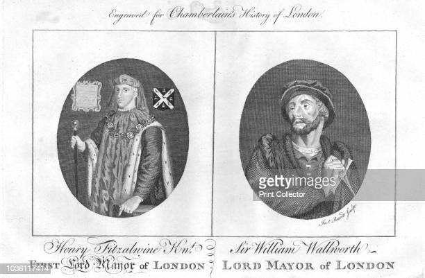 Lord Mayors of London Henry fitz Ailwin de Londonstane served as the first Mayor of the City of London Sir William Walworth was twice Lord Mayor of...