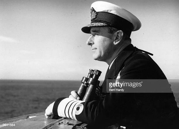 Lord Mountbatten 1st Earl Mountbatten of Burma Commander of the Mediterranean Fleet on naval exercises at Malta and Gibralta in 1956 Original...