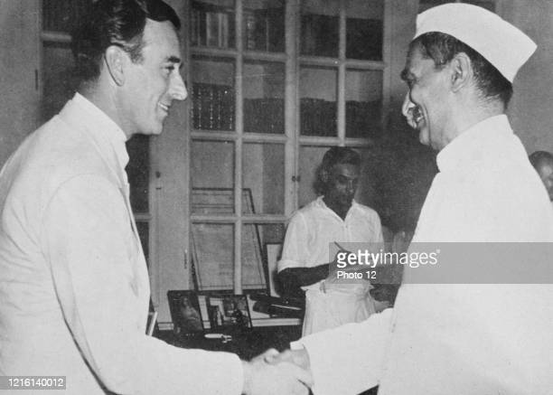 102 Lord Mountbatten Last Viceroy Photos And Premium High Res Pictures Getty Images