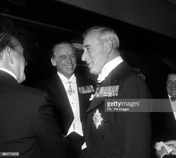 Lord Mountbatten with Douglas Fairbanks at film premiere in London Douglas Fairbanks Jr has been mentioned in conjunction with the Profumo scandal...