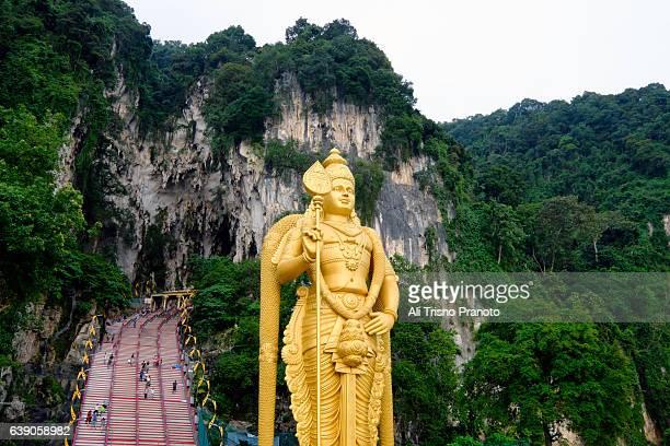 Lord Murugan statue in Batu caves, Kuala Lumpur, Malaysia.