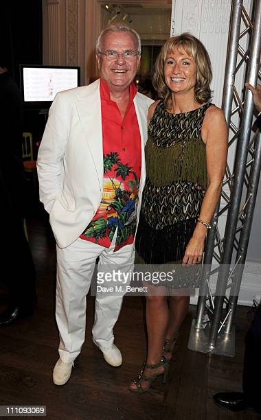 Lord Myners and Lady Alison Myners attend The ICA Fundraising Gala held at the Institute of Contemporary Arts on March 29 2011 in London England