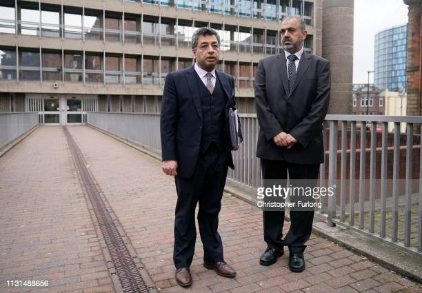 Lord Nazir Ahmed of Rotherham arrives at Sheffield Magistrates Court where he is facing charges of alleged sexual offences on March 19 2019 in...