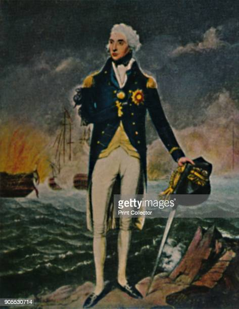 'Lord Nelson 1758-1805', 1934. Vice Admiral Horatio Nelson, 1st Viscount Nelson, 1st Duke of Bronté KB was a British flag officer in the Royal Navy....